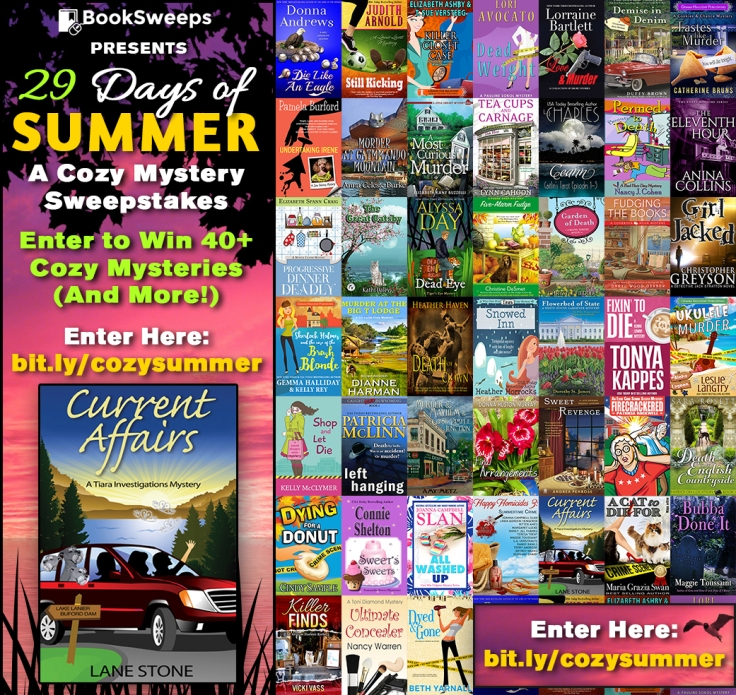 Cozy Mystery - July 2016 - Stone-Lane